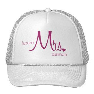 Señora futura Customizable Hat Gorras