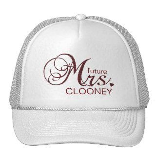 Señora futura Customizable Hat Gorras De Camionero