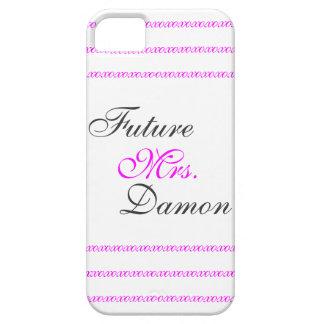 Señora futura Damon iPhone 5 Case-Mate Fundas