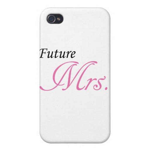 Señora futura iPhone 4/4S funda