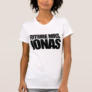 Señora futura Jonas Playera