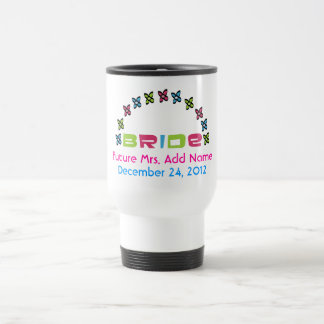 Señora futura Travel Mug Taza