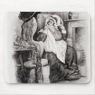 Señora Gamp, de 'Charles Dickens: Un chisme sobre  Alfombrillas De Ratones