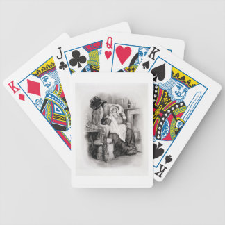 Señora Gamp, de 'Charles Dickens: Un chisme sobre  Baraja Cartas De Poker