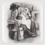 Señora Gamp, de 'Charles Dickens: Un chisme sobre Pegatina Cuadrada