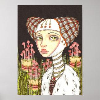 Señora Gertrudis en el jardín de curiosidades Impresiones