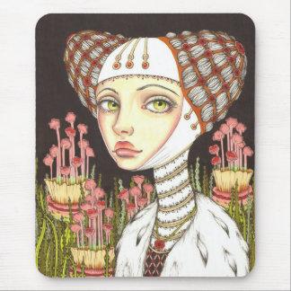 Señora Gertrudis en el jardín de curiosidades Alfombrillas De Ratones