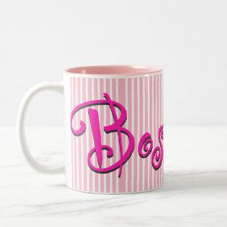 Señora Gift Mug de Boss Taza Dos Tonos