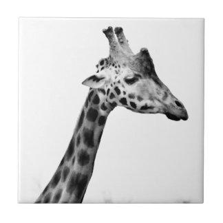 Señora Giraffe Azulejo Ceramica