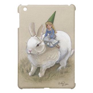 Señora Gnome y conejo