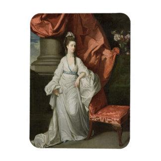 Señora Grant, esposa de sir James Grant, BT., 1770 Imán De Vinilo
