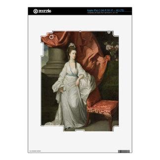 Señora Grant, esposa de sir James Grant, BT., 1770 Pegatina Skin Para iPad 3