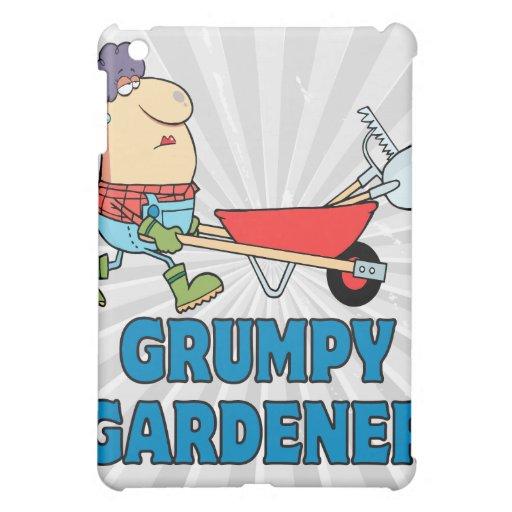 señora gruñona divertida del jardinero