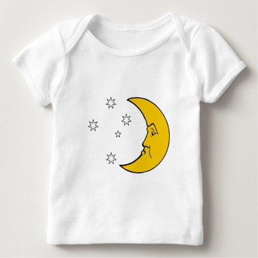 Señora gruñona Moon Infant Longsleeve T-Shirt Playera De Bebé