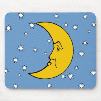 Señora gruñona Moon Mousepad Tapetes De Ratón