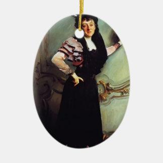 Señora Gualterio Bacon de Juan Sargent- Ornamentos De Navidad