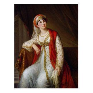 Señora Guiseppina Grassini en el papel de Postal