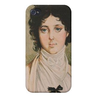 Señora Hamilton iPhone 4 Funda