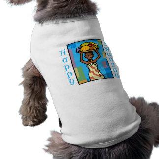 Señora Happy Kwanzaa Playera Sin Mangas Para Perro