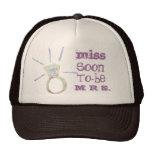 señora hat de la falta 2 gorra