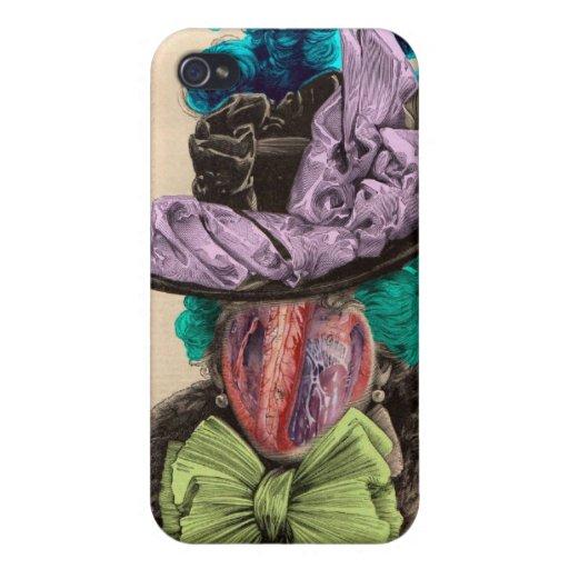 Señora Heart iPhone 4/4S Carcasas