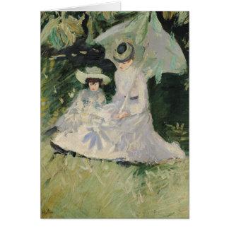 Señora Helleu y su hija Tarjeta De Felicitación