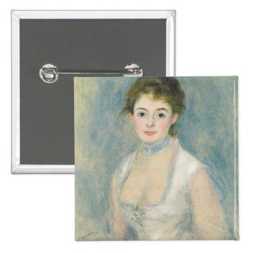 Señora Henriot, c.1876 (aceite en lona) Pin