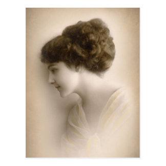 Señora hermosa Portrait del Victorian Postales