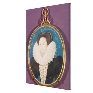 Señora Holanda, envejecida 26, 1593 Impresión En Lona