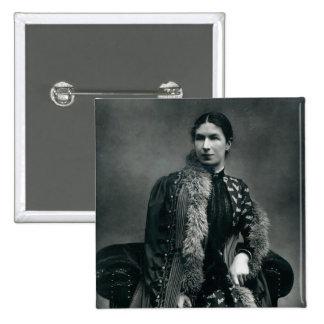 Señora Humphry Ward, 1881 Pin Cuadrada 5 Cm