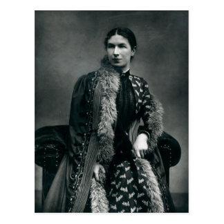 Señora Humphry Ward, 1881 Tarjeta Postal