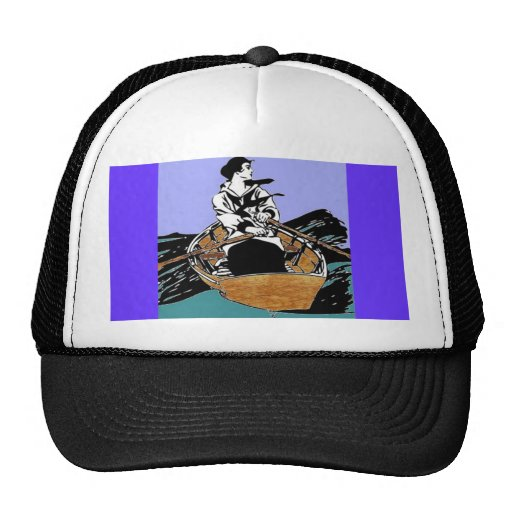 Señora In A Rowboat Hat Gorros