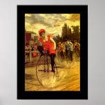 Señora In Race de la bicicleta de la bici de la an