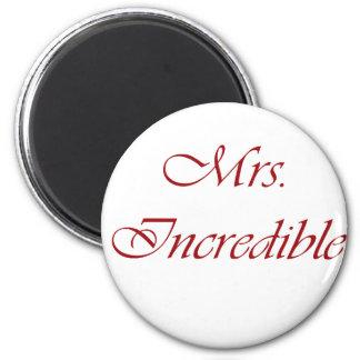 Señora Incredible Imán Para Frigorífico