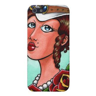 Señora Iphone4/4s Case del Victorian iPhone 5 Carcasa