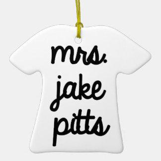 Señora Jake Pitts Ornamentos Para Reyes Magos
