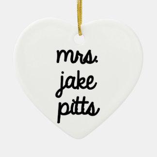 Señora Jake Pitts Ornamente De Reyes