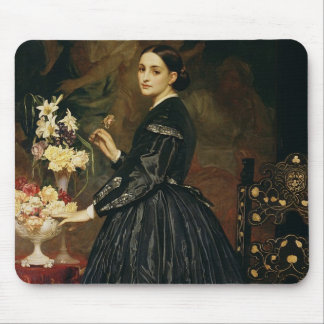 Señora James Guthrie, c.1864-5 (aceite en lona) Mousepad