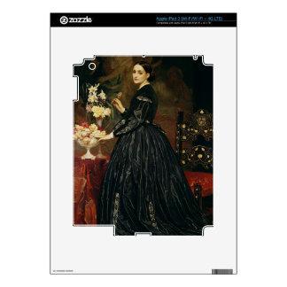 Señora James Guthrie, c.1864-5 (aceite en lona) Pegatinas Skins Para iPad 3