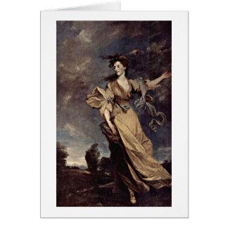 Señora Jane Halliday By sir Joshua Reynolds Felicitaciones