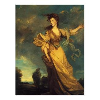 Señora Jane Halliday de Joshua Reynolds Postales