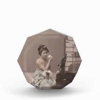 Señora japonesa Geisha Asian Vintage Art