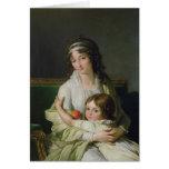 Señora Jeanne-Justine Boyer-Fonfrede y ella Tarjeton