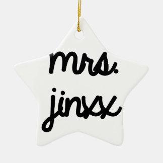 Señora Jinxx Ornamento Para Reyes Magos