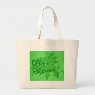 Señora Jones-Estrella Logotipo-Verde Envy Bolsas De Mano
