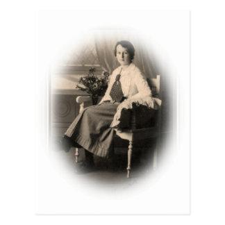 Señora joven Early-20th-century de Edwardian Tarjetas Postales