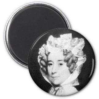Señora Juan Quincy First señora 1825 - 1829 del Iman De Nevera