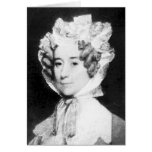 Señora Juan Quincy First señora 1825 - 1829 del ~  Tarjetón