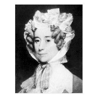 Señora Juan Quincy First señora 1825 - 1829 del Tarjeta Postal