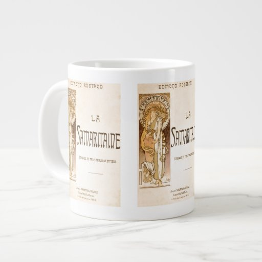 Señora Jumbo Mug de Alfonso Mucha Taza Grande